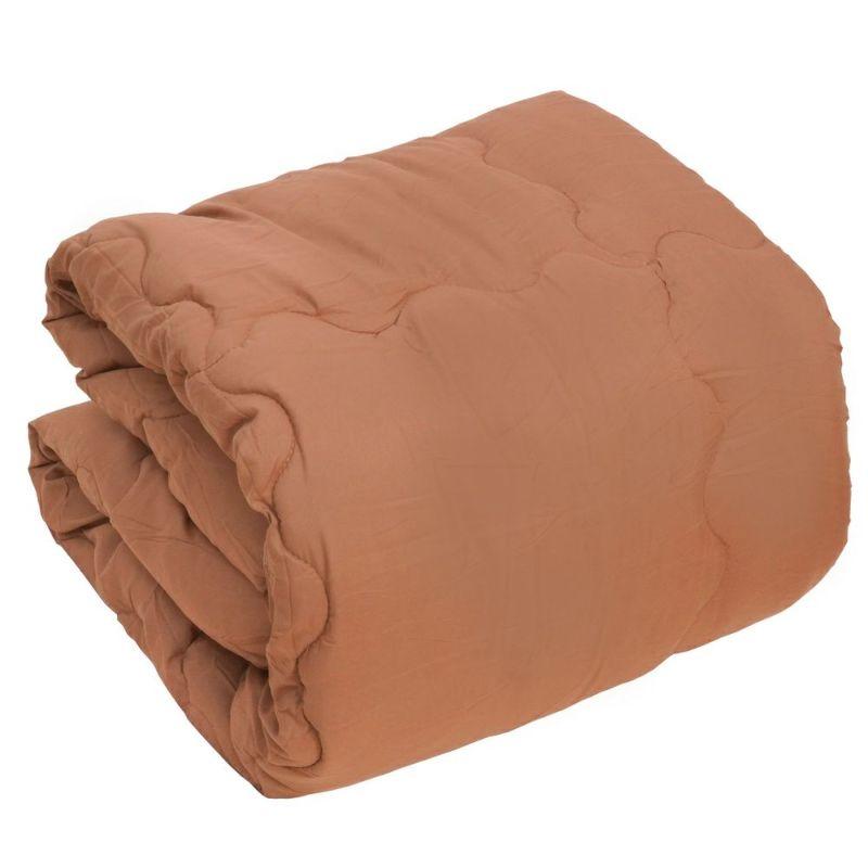 人気のシンサレートを使用した暖かい掛け布団のシングルサイズ ブラウン