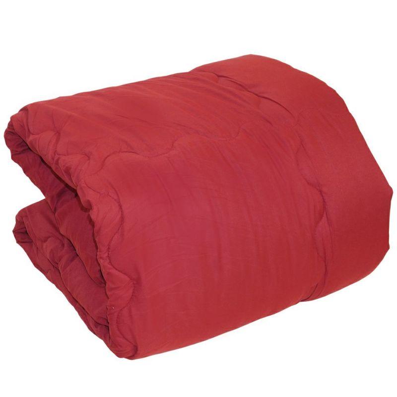 人気のシンサレートを使用した暖かい掛け布団のシングルサイズ ワインレッド