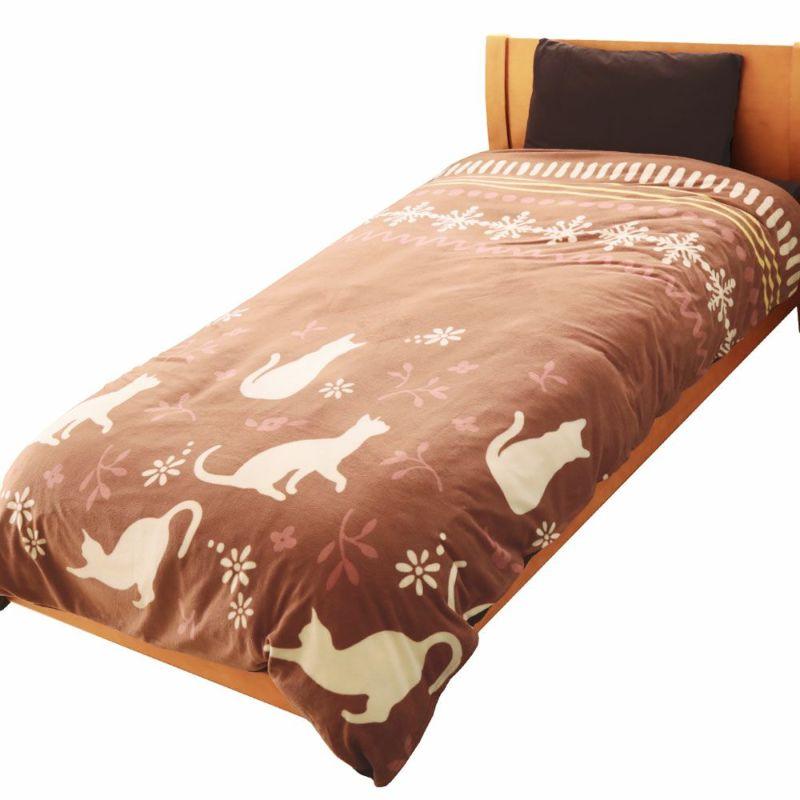 人気の暖かい掛け布団カバー オルテガ グレー