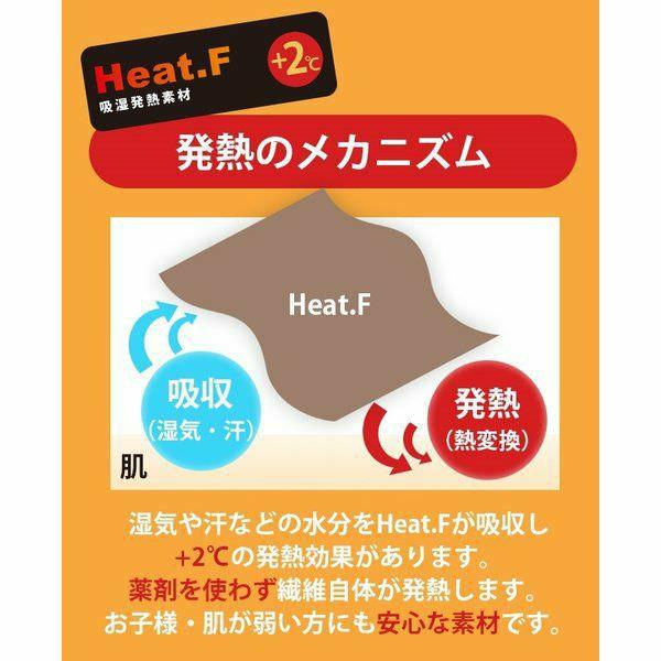 Heat.F 発熱 もこもこ敷きパッド クイーン 160×200cm ボア 敷きパッド あったか あたたか 暖かい